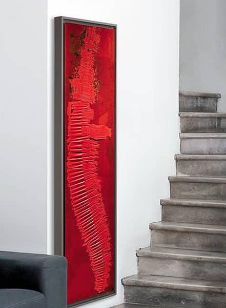 radiador cinier en el cubo de la escalera