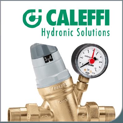 Conozca la gran variedad de componentes para calefaccion hidronica y piso radiante caleffi