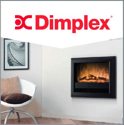 Conozca ahora las chimeneas electricas Dimplex. Las que tienen el fuego mas realista