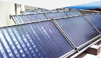instalacion de paneles termosolares para calentar agua sanitaria