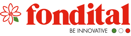 logotipo de la marca de radiadores de aluminio inyectado fondital