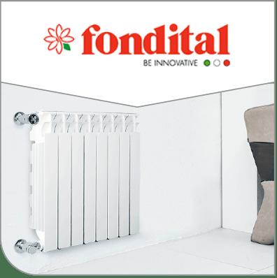 Conozca la mejor calidad en radiadores y calefactores fondital