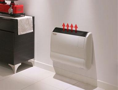 los calefactores gazelle cuentan con un novedoso sistema economizador de gas